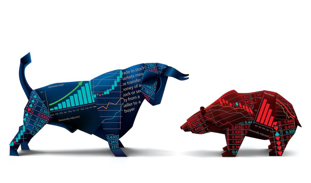 blue bull red bear stock market