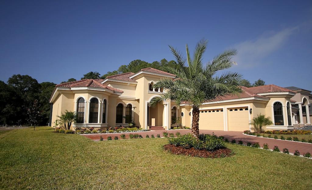 beige color home in Florida