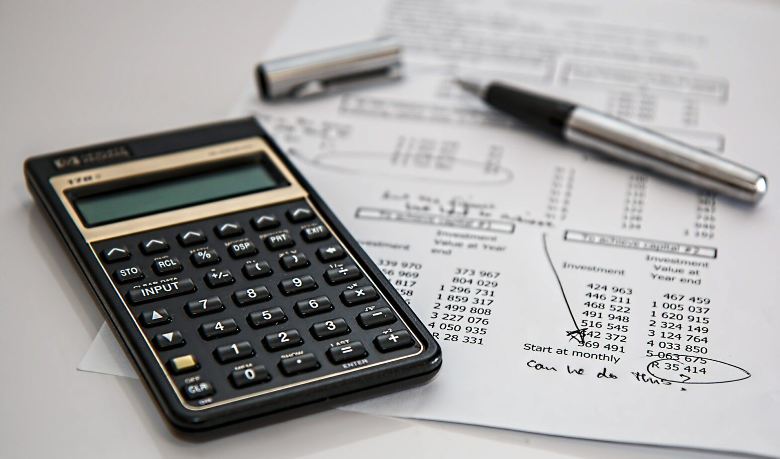 Calculating your investments