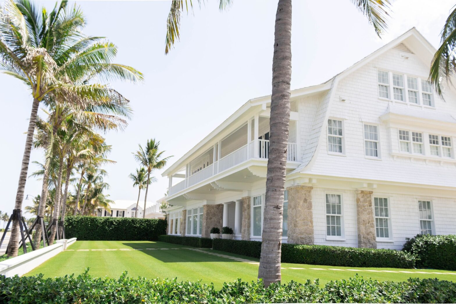 what house with palm trees in boca raton